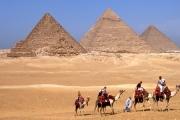 ギザの三大ピラミッド:エジプト
